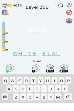 Dingbats Word Quiz level 396