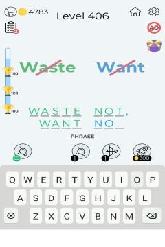 Dingbats Word Quiz level 406