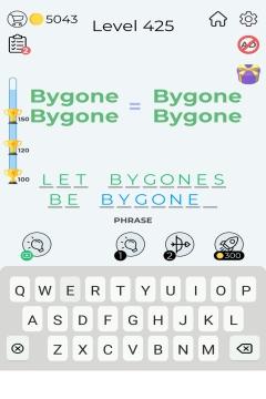 Dingbats Word Quiz level 425