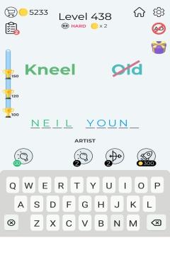 Dingbats Word Quiz level 438