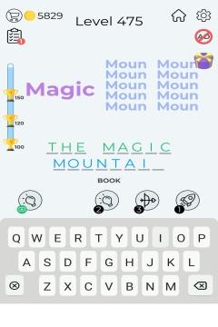 Dingbats Word Quiz level 475