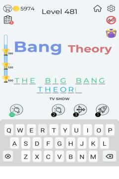 Dingbats Word Quiz level 481