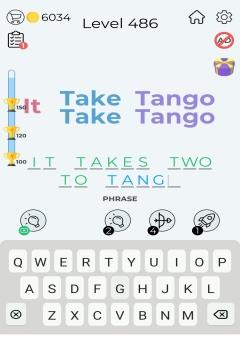 Dingbats Word Quiz level 486