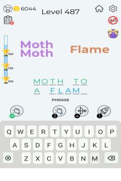 Dingbats Word Quiz level 487