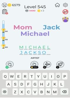 Dingbats Word Quiz level 545