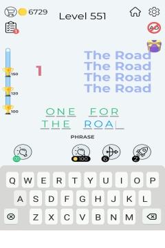 Dingbats Word Quiz level 551