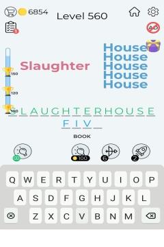 Dingbats Word Quiz level 560