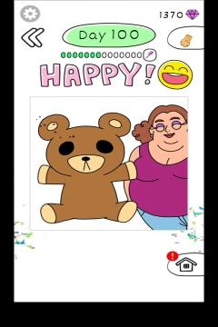 Draw Happy Body level 100