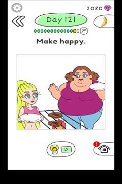 Draw Happy Body level 121