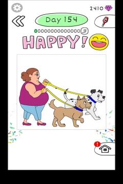 Draw Happy Body level 154
