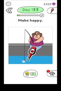 Draw Happy Body level 155