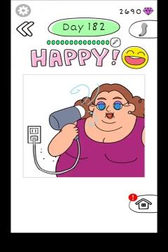 Draw Happy Body level 182