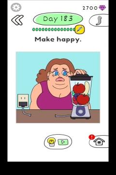 Draw Happy Body level 183