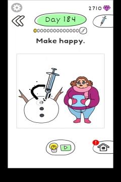 Draw Happy Body level 184