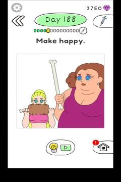 Draw Happy Body level 188