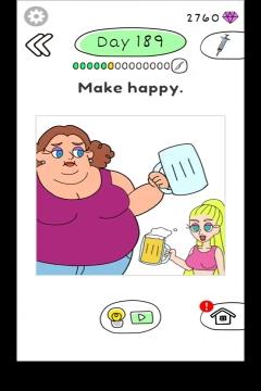 Draw Happy Body level 189