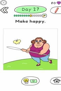 Draw Happy Body level 27