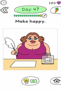 Draw Happy Body level 47