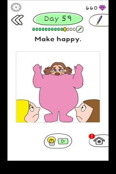 Draw Happy Body level 59
