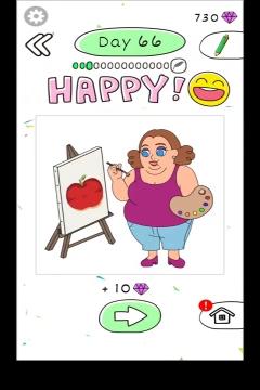 Draw Happy Body level 66