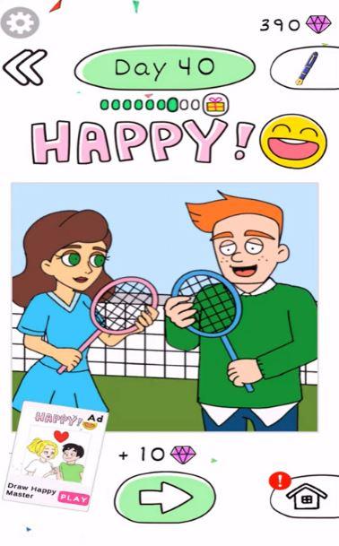 Draw Happy Clinic day 40