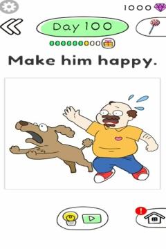 Draw Happy Master day 100