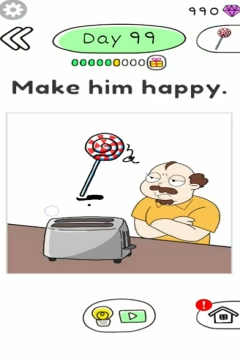 Draw Happy Master day 99