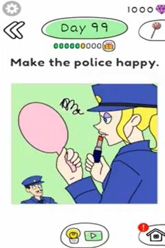 Draw Happy Police day 99