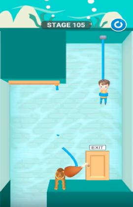 rescue cut level 105