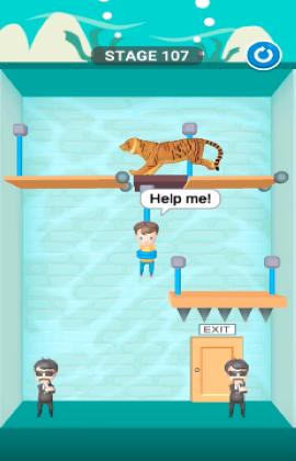 rescue cut level 107