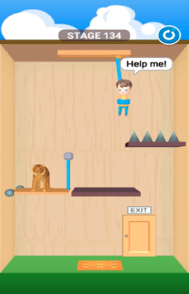 rescue cut level 134
