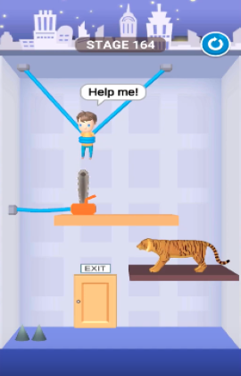 rescue cut level 164