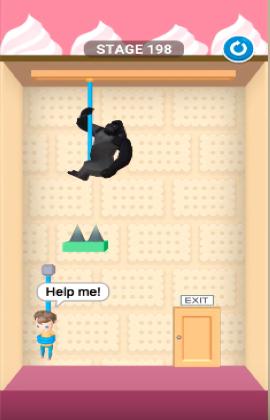 rescue cut level 198