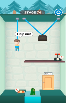 rescue cut level 74
