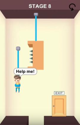 rescue cut level 8