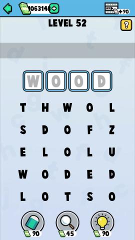 word episode level 52
