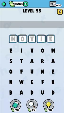 word episode level 55