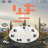 Wordscapes level 10157