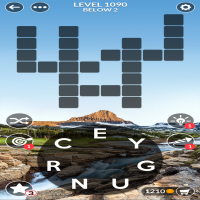 Wordscapes level 1090