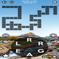 Wordscapes level 1101
