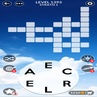 Wordscapes level 1393