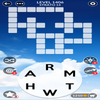Wordscapes level 1406