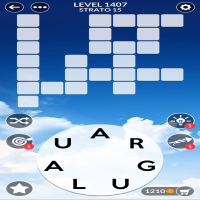 Wordscapes level 1407