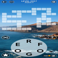 Wordscapes level 2057