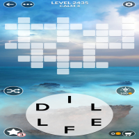 Wordscapes level 2435