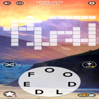 Wordscapes level 2576
