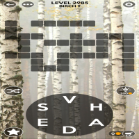 Wordscapes level 2985