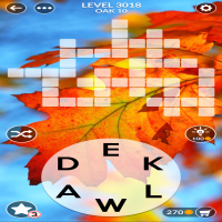 Wordscapes level 3018