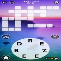 Wordscapes level 3405