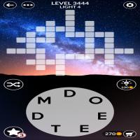 Wordscapes level 3444